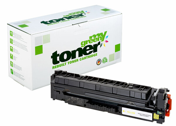 Rebuilt Toner Kartusche für: HP CF412A / 410A / 046 / 1247C002 2300 Se