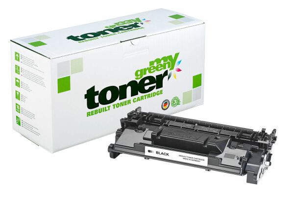 Rebuilt Toner Kartusche für: HP CF226X / 26X / 052H / 2200C002 18000 S