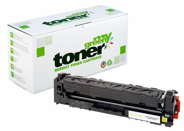 Rebuilt Toner Kartusche für: HP CF542X / 203X 2500 Seiten