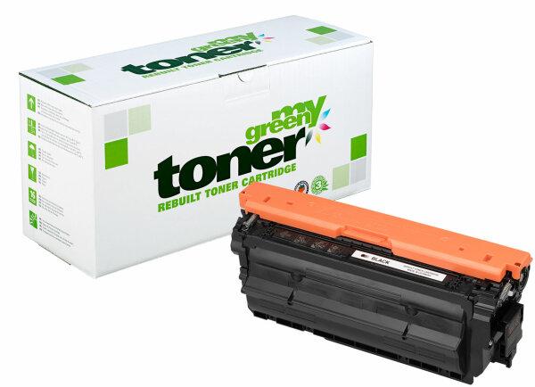 Rebuilt Toner Kartusche für: HP CF450A / 655A 12500 Seiten