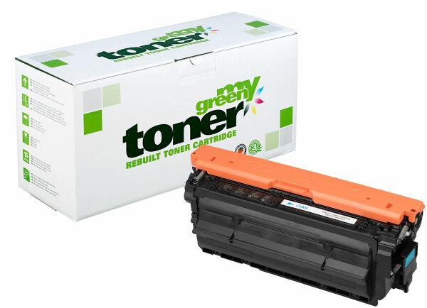 Rebuilt Toner Kartusche für: HP CF451A / 655A 10500 Seiten