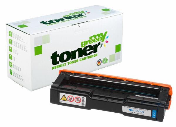 Rebuilt Toner Kartusche für: Kyocera TK-150C / 1T05JKCNL0 6000 Seiten