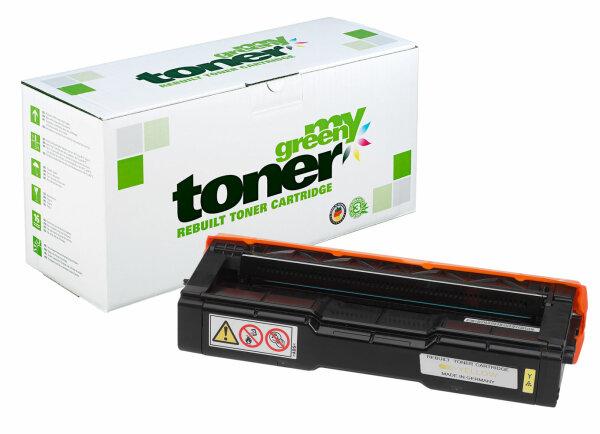 Rebuilt Toner Kartusche für: Kyocera TK-150Y / 1T05JKANL0 6000 Seiten