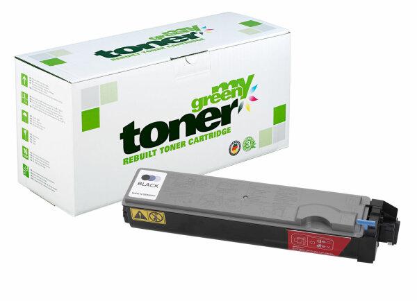 Rebuilt Toner Kartusche für: Kyocera TK-520K / 1T02HJ0EU0 6000 Seiten