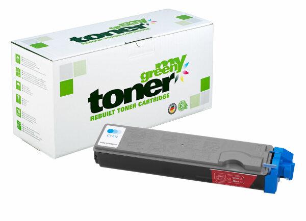 Rebuilt Toner Kartusche für: Kyocera TK-520C / 1T02HJCEU0 4000 Seiten