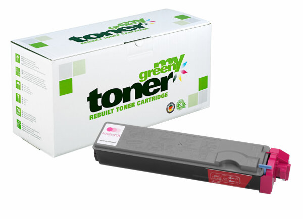 Rebuilt Toner Kartusche für: Kyocera TK-520M / 1T02HJBEU0 4000 Seiten