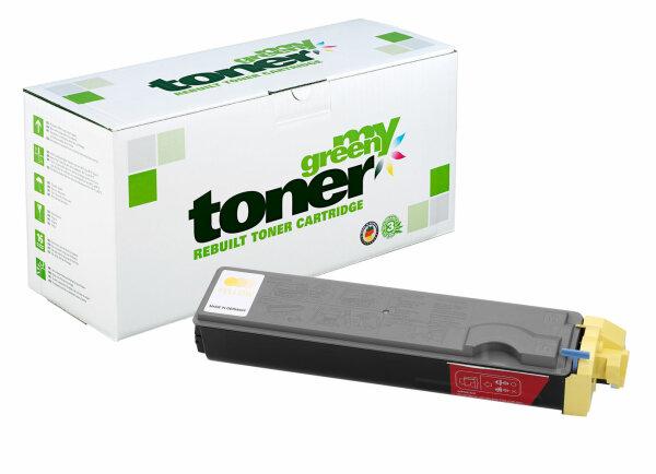Rebuilt Toner Kartusche für: Kyocera TK-520Y / 1T02HJAEU0 4000 Seiten