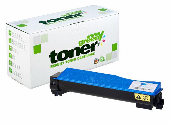 Rebuilt Toner Kartusche für: Kyocera TK-540C / 1T02HLCEU0 4000 Seiten