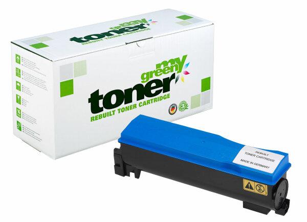 Rebuilt Toner Kartusche für: Kyocera TK-570C / 1T02HGCEU0 12000 Seiten