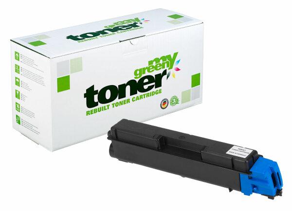 Rebuilt Toner Kartusche für: Kyocera TK-580C / 1T02KTCNL0 2800 Seiten