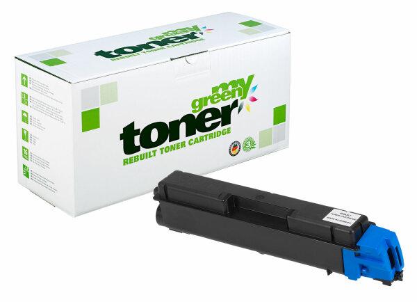 Rebuilt Toner Kartusche für: Kyocera TK-580C / 1T02KTCNL0 5600 Seiten