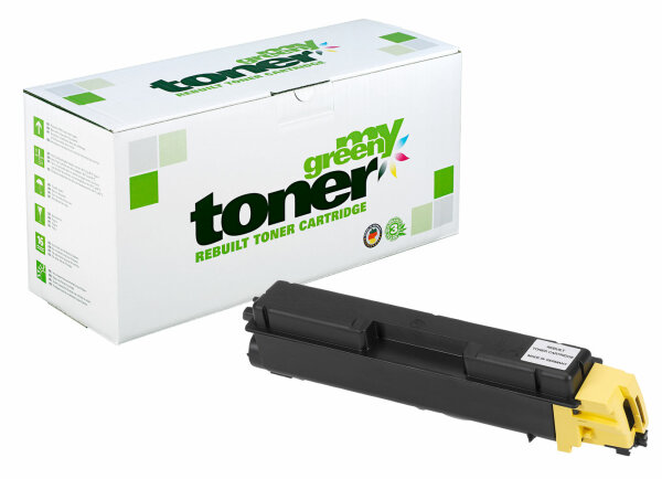Rebuilt Toner Kartusche für: Kyocera TK-590Y / 1T02KVANL0 10000 Seiten
