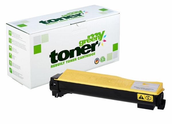 Rebuilt Toner Kartusche für: Kyocera TK-540Y / 1T02HLAEU0 8000 Seiten