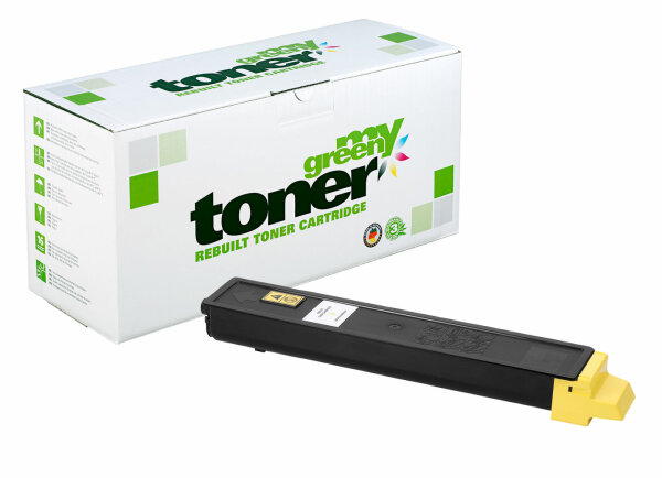 Rebuilt Toner Kartusche für: Kyocera TK-895Y / 1T02K0ANL0 6000 Seiten