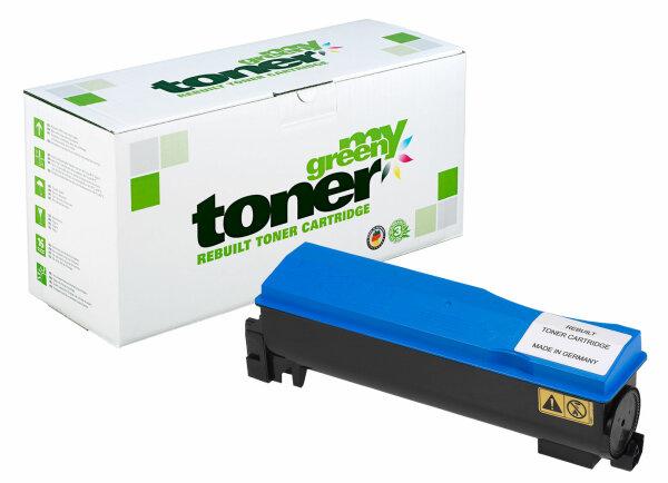 Rebuilt Toner Kartusche für: Kyocera TK-570C / 1T02HGCEU0 24000 Seiten
