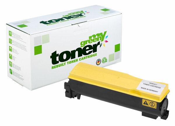Rebuilt Toner Kartusche für: Kyocera TK-570Y / 1T02HGAEU0 24000 Seiten