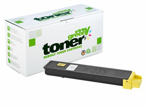 Rebuilt Toner Kartusche für: Kyocera TK-8315Y / 1T02MVANL0 6000 Seiten
