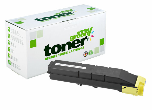 Rebuilt Toner Kartusche für: Kyocera TK-8305Y / 1T02LKANL0 15000 Seite