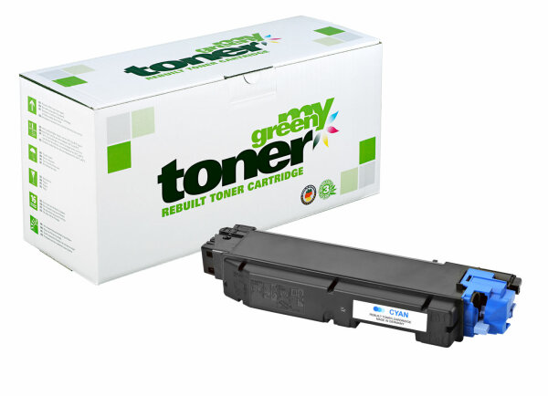 Rebuilt Toner Kartusche für: Kyocera TK-5140C / 1T02NRCNL0 5000 Seiten