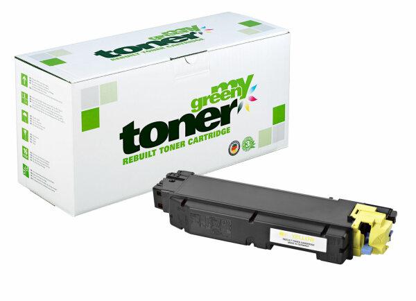 Rebuilt Toner Kartusche für: Kyocera TK-5140Y / 1T02NRANL0 5000 Seiten