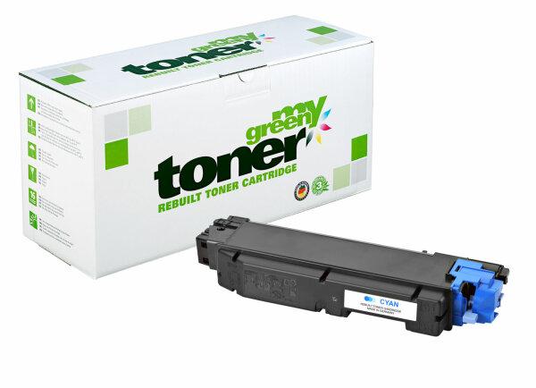 Rebuilt Toner Kartusche für: Kyocera TK-5150C / 1T02NSCNL0 10000 Seite