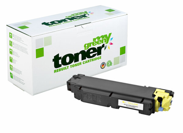 Rebuilt Toner Kartusche für: Kyocera TK-5150Y / 1T02NSANL0 20000 Seite
