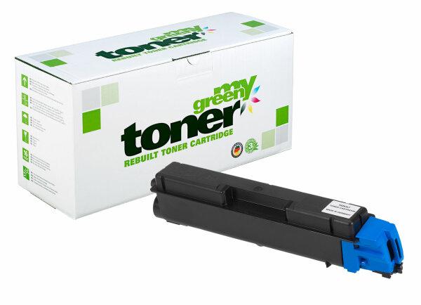 Rebuilt Toner Kartusche für: Kyocera TK-580C / 1T02KTCNL0 / TK-580C /
