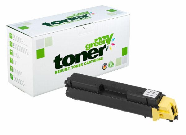 Rebuilt Toner Kartusche für: Kyocera TK-580Y / 1T02KTANL0 / TK-580Y /