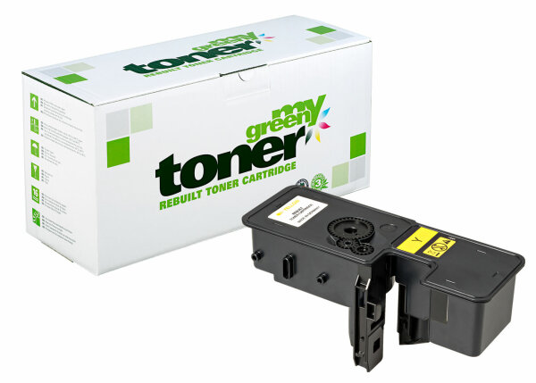 Rebuilt Toner Kartusche für: Kyocera TK-5240Y / 1T02R7ANL0 3000 Seiten