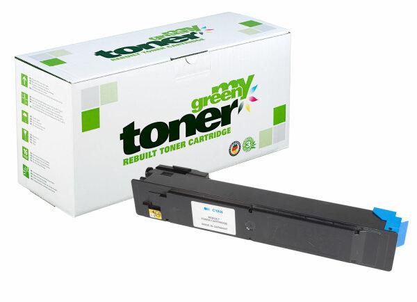 Rebuilt Toner Kartusche für: Kyocera TK-5205C / 1T02R5CNL0 12000 Seite