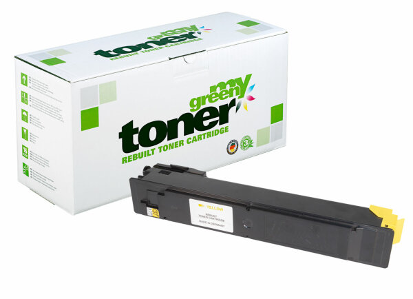 Rebuilt Toner Kartusche für: Kyocera TK-5205Y / 1T02R5ANL0 12000 Seite