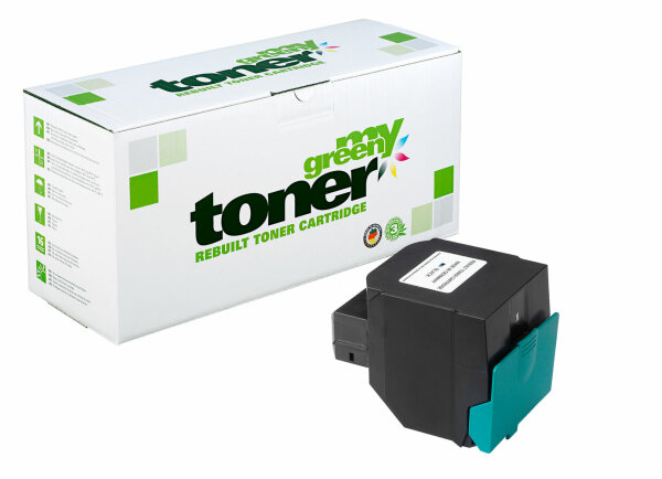 Rebuilt Toner Kartusche für: Lexmark C546U1KG 8000 Seiten