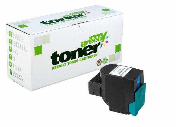 Rebuilt Toner Kartusche für: Lexmark C544X1CG / 24B5587 4000 Seiten