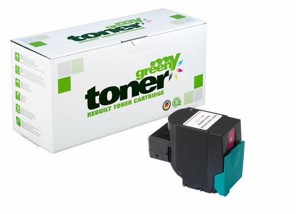Rebuilt Toner Kartusche für: Lexmark C544X1MG / 24B5588 4000 Seiten