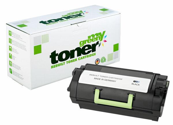 Rebuilt Toner Kartusche für: Lexmark 52D2000 / 522 6000 Seiten