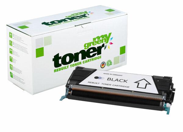 Rebuilt Toner Kartusche für: Lexmark C734A1KG 8000 Seiten