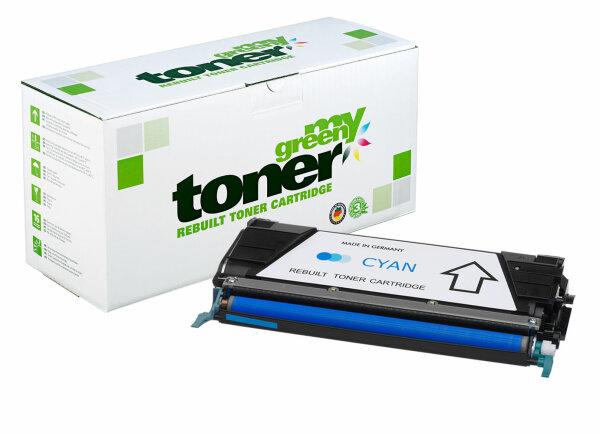 Rebuilt Toner Kartusche für: Lexmark C734A1CG 6000 Seiten