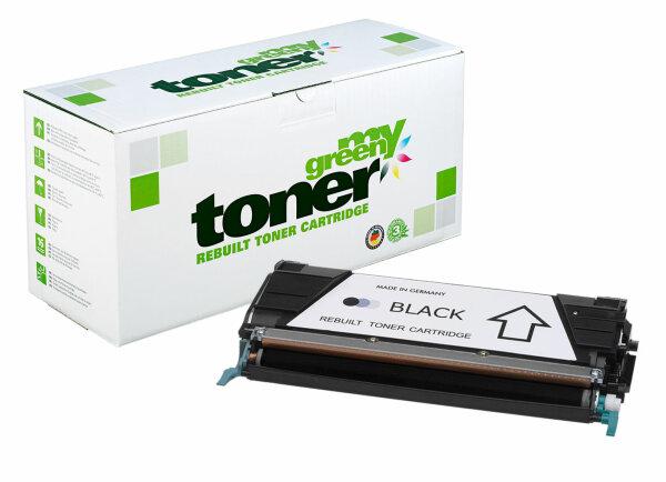 Rebuilt Toner Kartusche für: Lexmark C746H1KG / X746H1KG / 24B5700 120