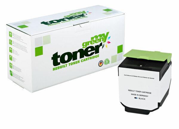 Rebuilt Toner Kartusche für: Lexmark 70C2HK0 / 702HK 4000 Seiten