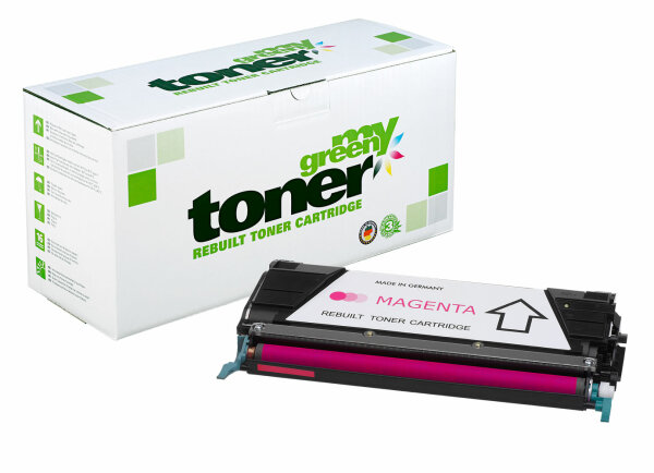 Rebuilt Toner Kartusche für: Lexmark C748H1MG / X748H1MG / 24B5702 100