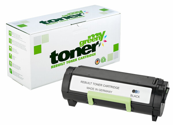 Rebuilt Toner Kartusche für: Lexmark 24B6035 16000 Seiten
