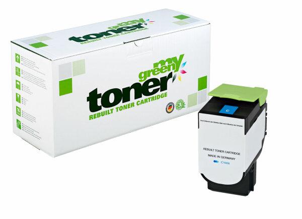 Rebuilt Toner Kartusche für: Lexmark 70C2XC0 / 702XC 4000 Seiten