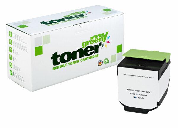 Rebuilt Toner Kartusche für: Lexmark 80C2XK0 / 802XK 8000 Seiten
