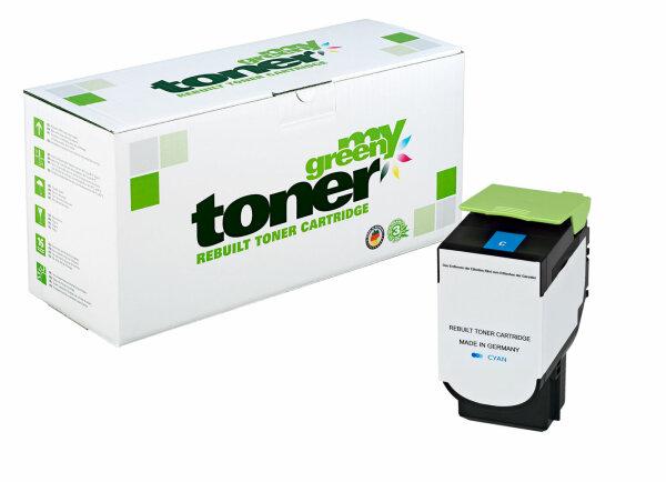 Rebuilt Toner Kartusche für: Lexmark 80C2XC0 / 802XC 4000 Seiten
