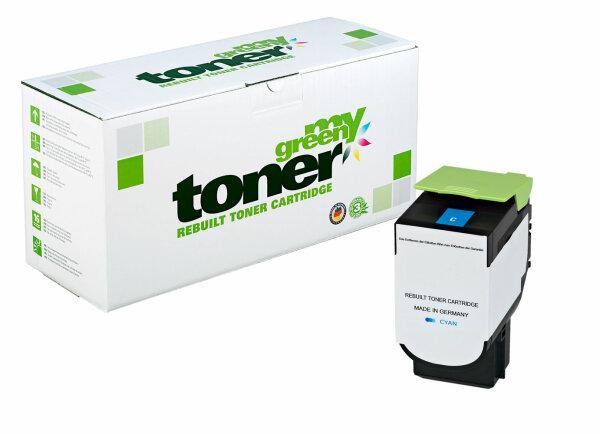 Rebuilt Toner Kartusche für: Lexmark 71B20C0 2300 Seiten