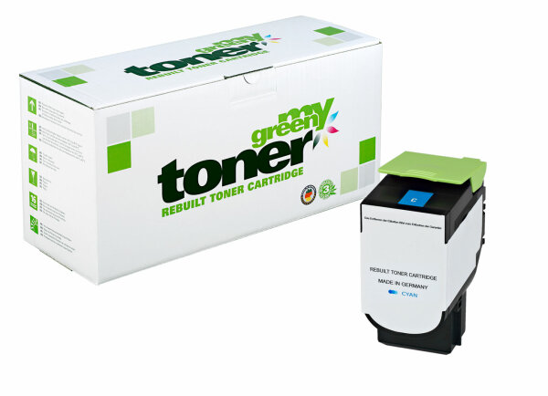 Rebuilt Toner Kartusche für: Lexmark 71B2HC0 3500 Seiten