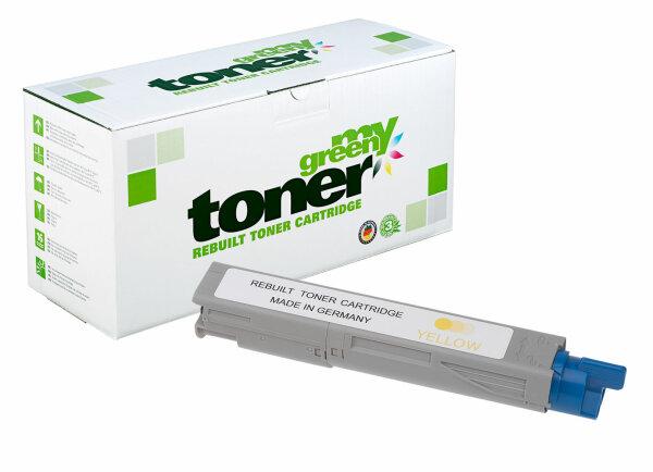 Rebuilt Toner Kartusche für: Oki 43459329 / B0890 2500 Seiten