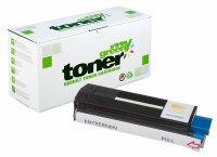 Rebuilt Toner Kartusche für: Oki 42127405 / 42804513...