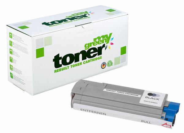 Rebuilt Toner Kartusche für: Oki 43865724 8000 Seiten