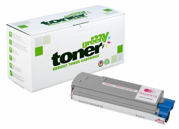 Rebuilt Toner Kartusche für: Oki 43865722 8000 Seiten